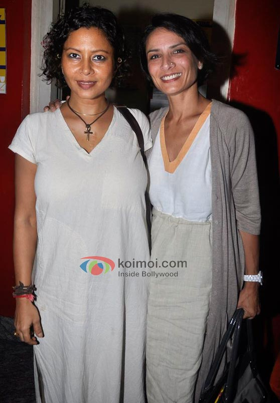 Adhuna Akhtar At Delhi Belly Screening