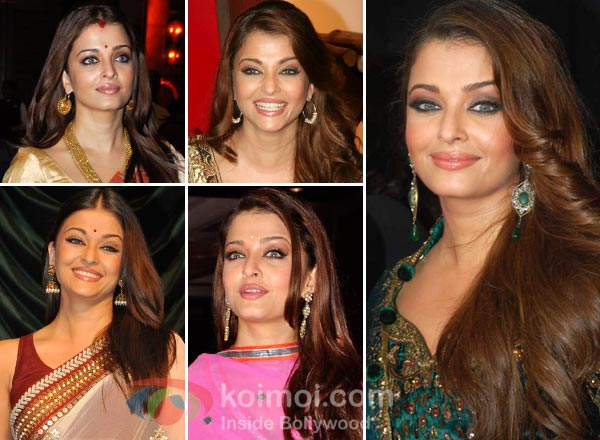 Aishwarya Rai Earrings Style