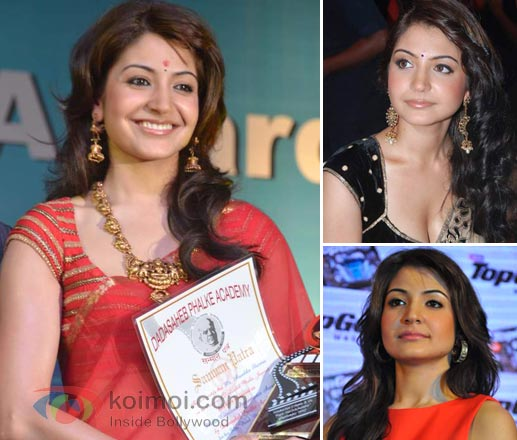 Anushka Sharma Earrings Style