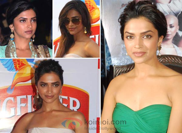 Deepika Padukone Earrings Style