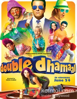 Double Dhamaal box office opening mixed