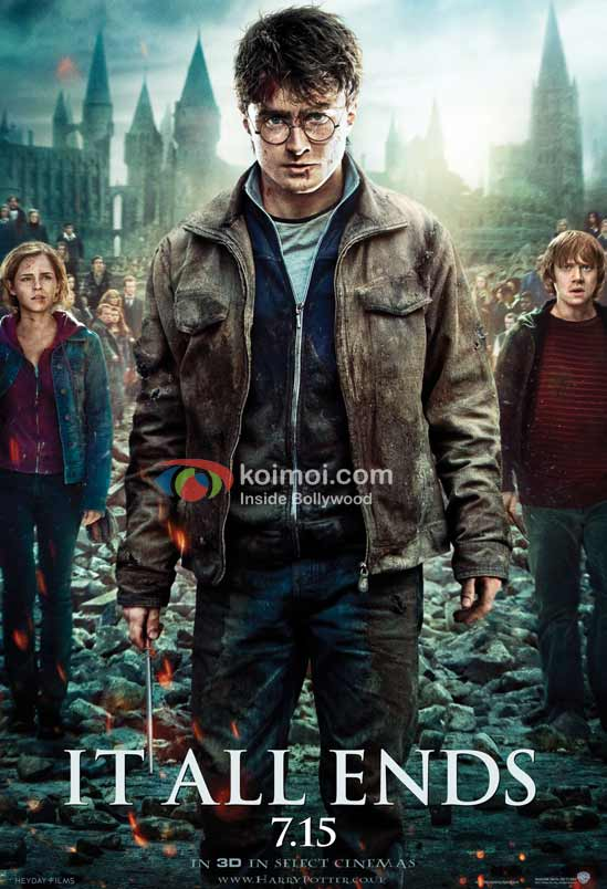 Harry Potter And The Deathly Hallows - Part 2 First Look Poster