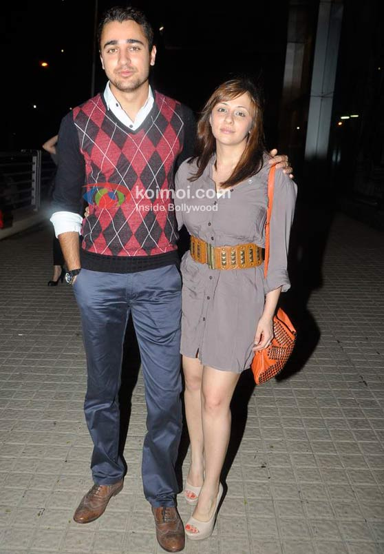 Imran Khan, Avantika Malik At Delhi Belly Screening