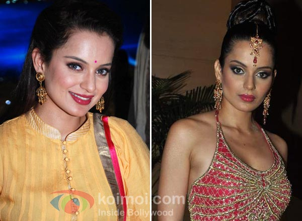 Kangana Ranaut Earrings Style