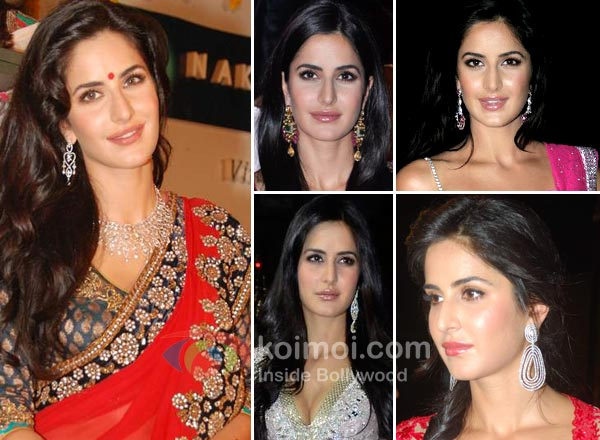 Katrina Kaif Earrings Style