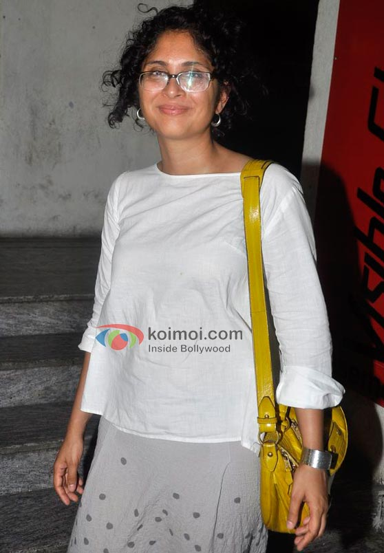 Kiran Rao At Delhi Belly Screening
