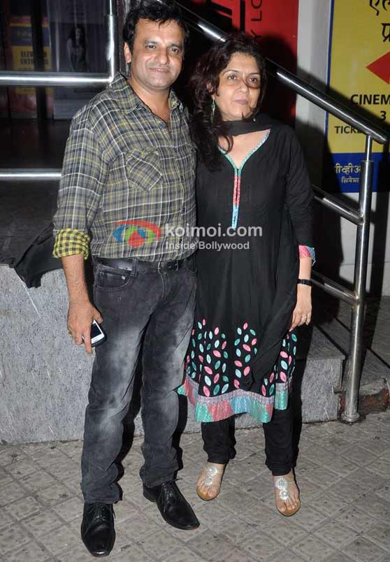 Paresh Ganatra At Delhi Belly Screening