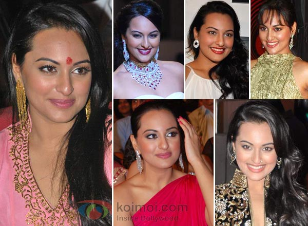 Sonakshi Sinha Earrings Style