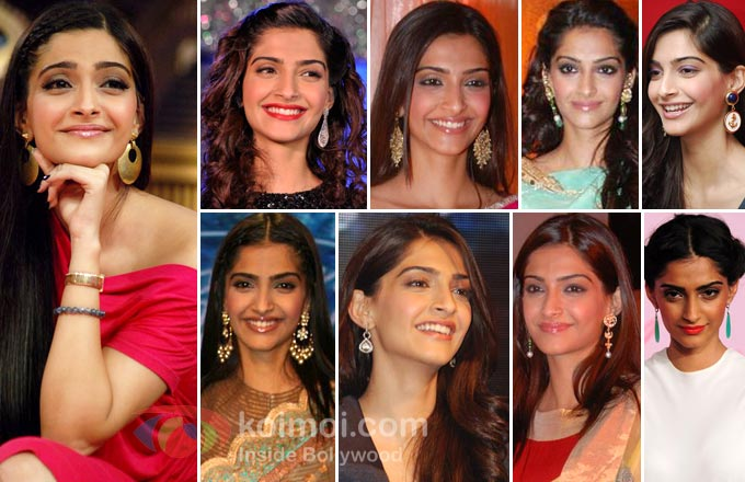 Sonam Kapoor Earrings Style