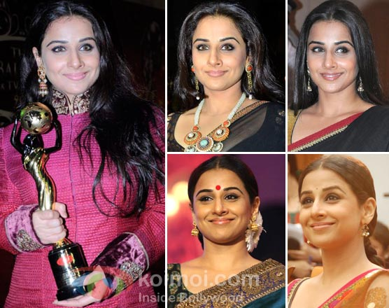 Vidya Balan Earrings Style