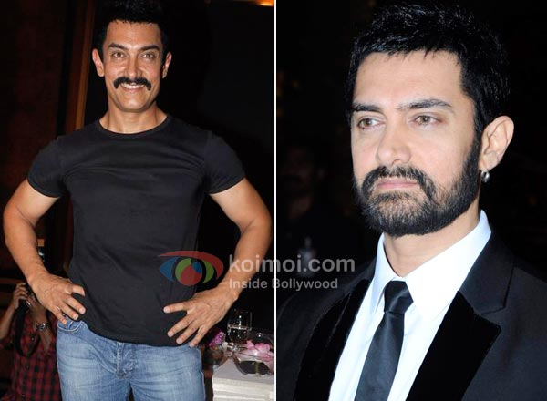 Aamir Khan Moustache Man