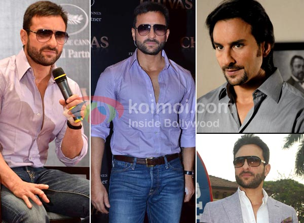 Saif Ali Khan Moustache Man