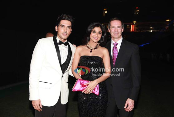 Zayed Khan, Shilpa Shetty At IIFA