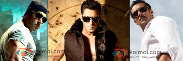 Salman Khan (Wanted, Bodyguard, Dabangg)