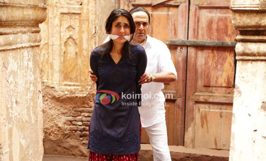 Kareena Kapoor, Mahesh Manjrekar (Bodyguard Movie Stills)
