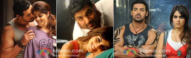 John Abraham and Genelia D'Souza in 'Force'