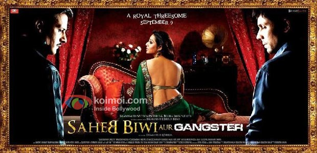 Saheb Biwi Aur Gangster Review (Saheb Biwi Aur Gangster Movie Wallpaper)