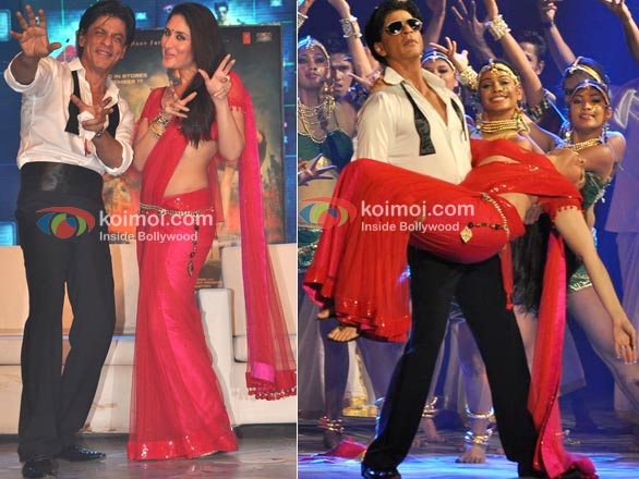 Shah Rukh Khan, Kareena Kapoor At RA.One Music Launch