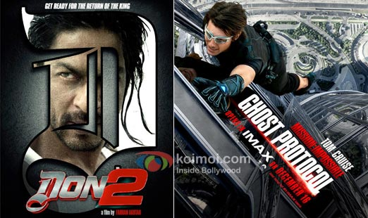 Don 2 Poster, Mission Impossible 4 - Ghost Protocol Poster