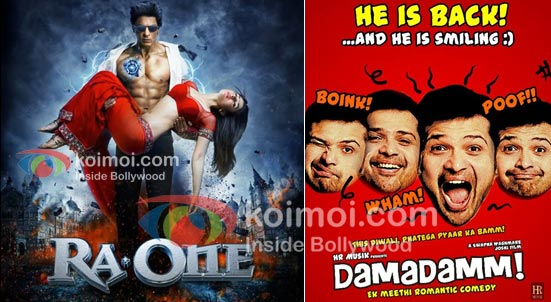 Ra.One Movie Poster, Damadamm Movie Poster