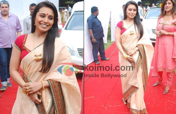 Rani Mukerji Bollywood's Best/Worst Dressed Fashion