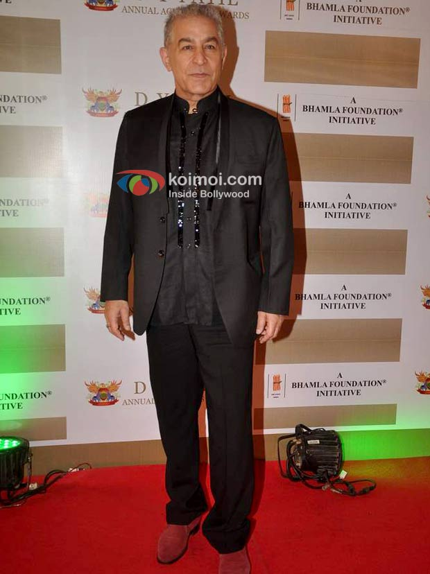 Dalip Tahil At D Y Patil Achievers Awards