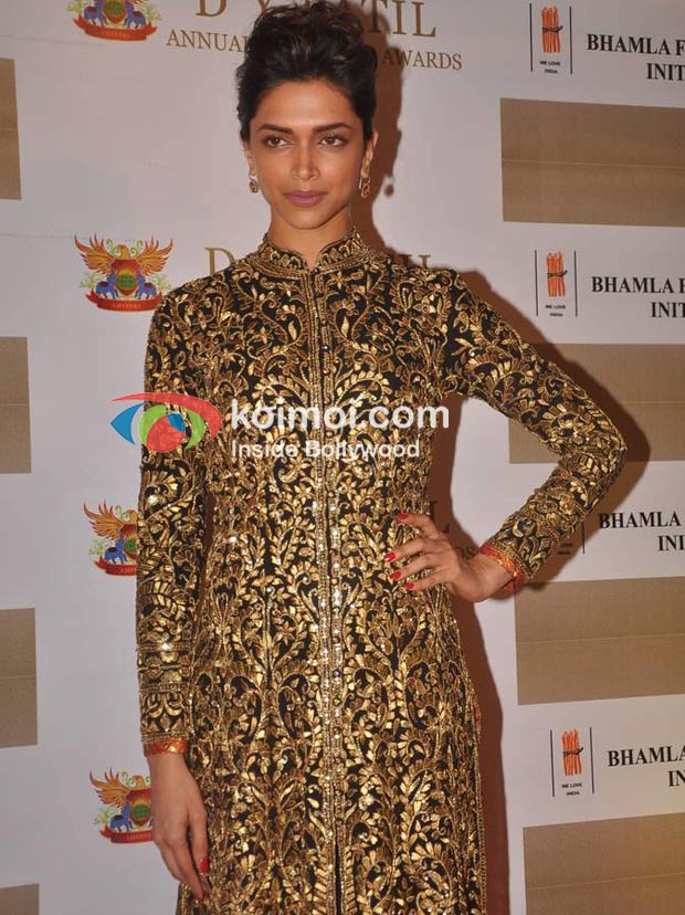 Deepika Padukone At D Y Patil Achievers Awards