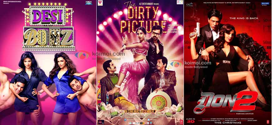 Desi Boyz Poster, The Dirty Picture Poster, Don 2 Poster