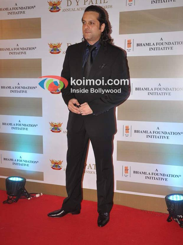 Fardeen Khan At D Y Patil Achievers Awards