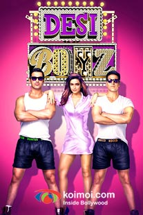 John Abraham, Deepika Padukone, Akshay Kumar in Desi Boyz Movie Review