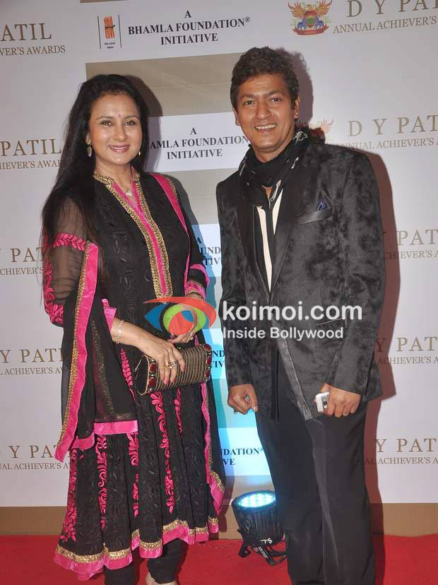 Poonam Dhillon, Aadesh Shrivastav At D Y Patil Achievers Awards
