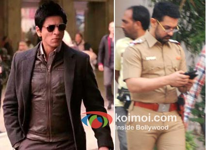 Shah Rukh Khan In Don 2, Aamir Khan In Talaash Come Together The Don And The Cop.