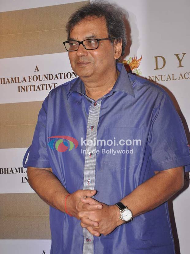 Subhash Ghai At D Y Patil Achievers Awards