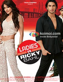 Ranveer Singh, Anushka Sharma In Ladies Vs Ricky Bahl Movie Poster