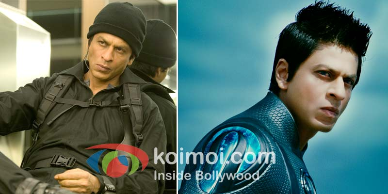 Shah Rukh Khan In Don 2 and Ra.One