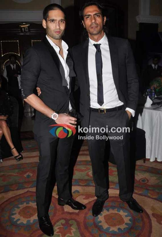 Siddharth Mallya, Arjun Rampal At HT Mumbai's-Most Stylist 2011