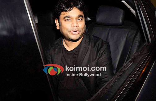 A R Rahman At Oprah Winfrey's Bash