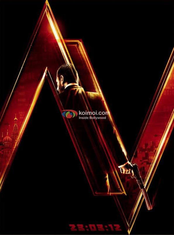 Agent Vinod: First Look Poster