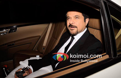 Anil Kapoor At Oprah Winfrey's Bash