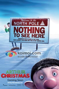 Arthur Christmas Review (Arthur Christmas Movie Poster)