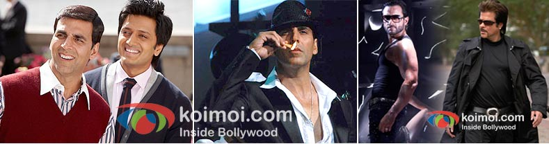 Bollywood Sequels Housefull 2, Once Upon A Time In Mumbaai 2, Race 2