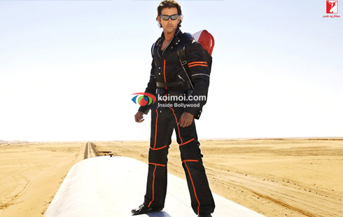 Hrithik Roshan in a still from Dhoom 2
