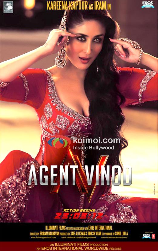 Kareena Kapoor (Agent Vinod Movie Poster)