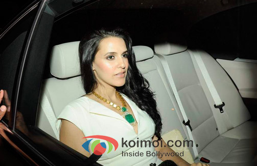 Neha Dhupia At Oprah Winfrey's Bash