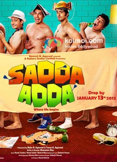 Sadda Adda Review (Sadda Adda Movie Poster)