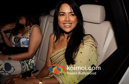 Sameera Reddy At Oprah Winfrey's Bash