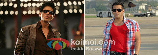 Shah Rukh Khan in Don 2 and Salman Khan in Ready