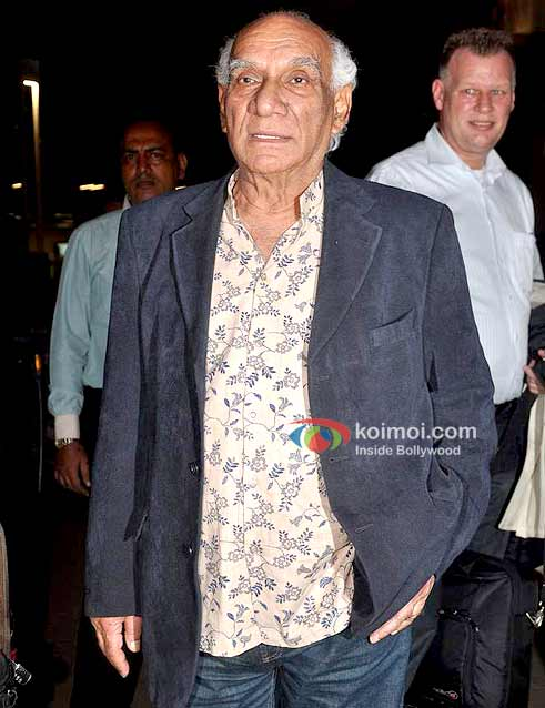 Yash Chopra Return From Vacation