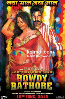Akshay Kumar And Sonakshi Sinha In Rowdy Rathore