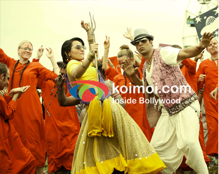 Akshay Kumar And Sonakshi Sinha (Joker Movie Stills)
